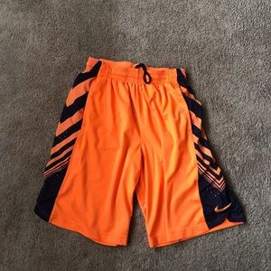 Orange Nike dri fit shorts! Size L